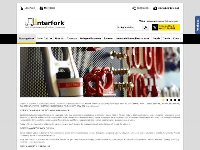 Interfork • Żuraw stacjonarny